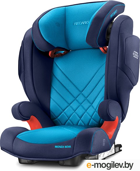 автокресла Recaro Monza Nova is Seatfix Xenon Blue 6148.21504.66