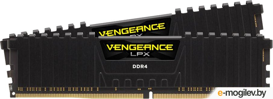 Corsair CMK32GX4M2B3200C16 DDR4 2x16Gb 3000MHz RTL PC4-24000 CL15 DIMM 288-pin 1.35В