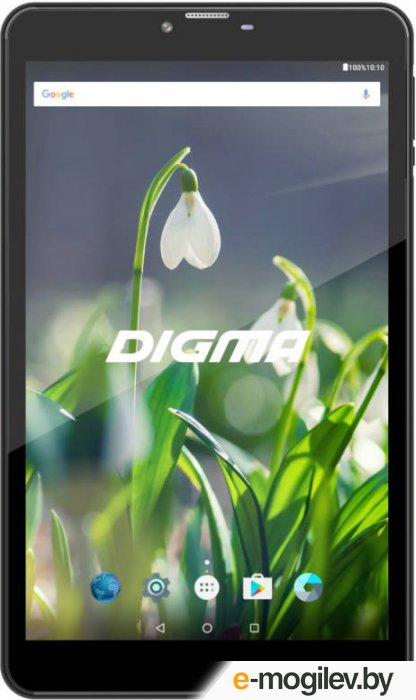 Digma Plane 8522 3G Black PS8135MG MediaTek MT8321 1.3 GHz/1024Mb/8Gb/3G/Wi-Fi/Bluetooth/Cam/8/1280x800/Android 475573