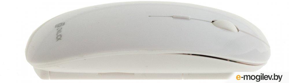 Мышь Oklick 625MW белый оптическая  1600dpi  беспроводная USB  3but