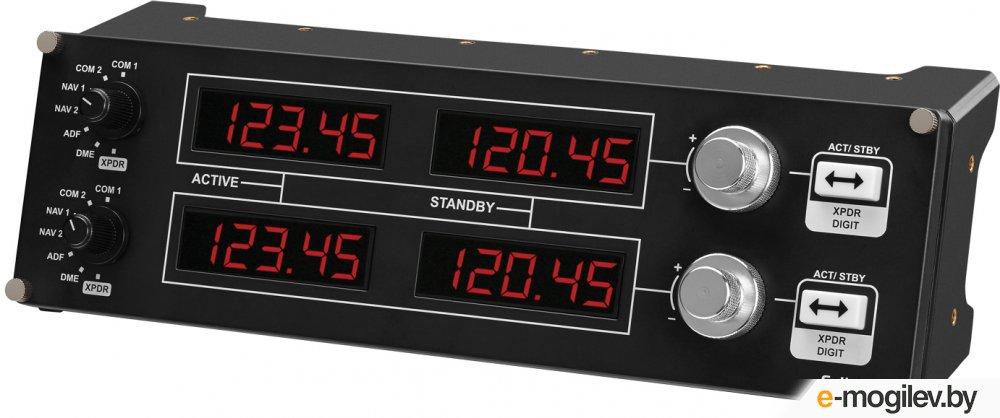 Приборная панель Logitech G Saitek Pro Flight Radio Panel Black USB 945-000011