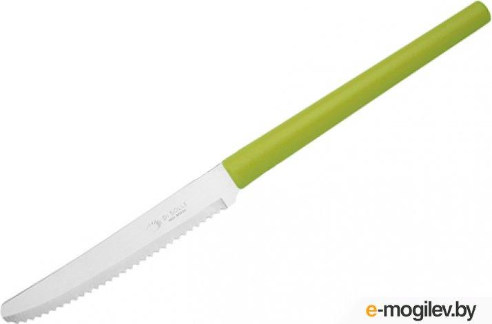 Набор ножей столовых, 3шт., серия MILLENIUN, зеленые, DI SOLLE