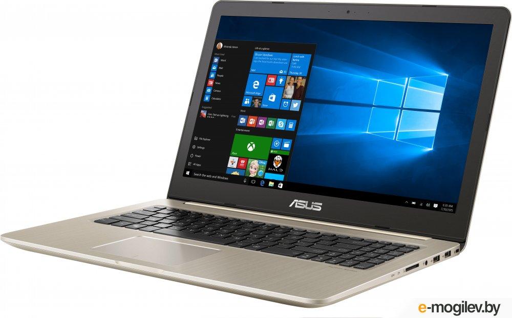"Asus N580VD-DM129T i7-7700HQ (2.8)/8G/1T+128G SSD/15.6""FHD AG/NV GTX1050 2G/noODD/BT/Win10 Gold, Metal"