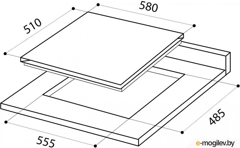 Варочные панели LEX GVS 640 IX