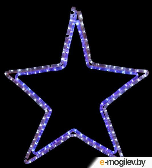 Елочные игрушки и украшения Neon-Night Звезда White-Blue 501-514