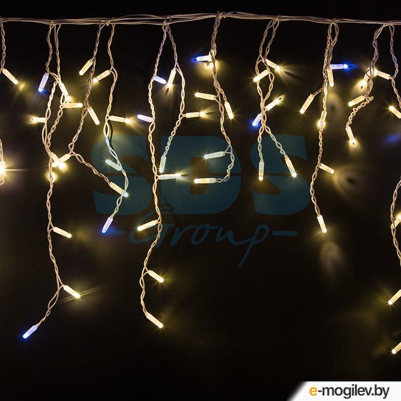 Гирлянды Neon-Night Айсикл 4.8x0.6m 176 LED Warm-White 255-166