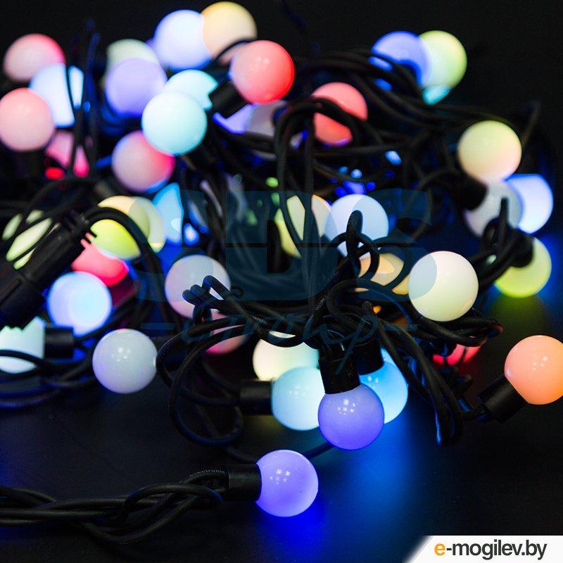 Гирлянды Neon-Night Мультишарики 23mm 10m 80 LED RGB 303-599