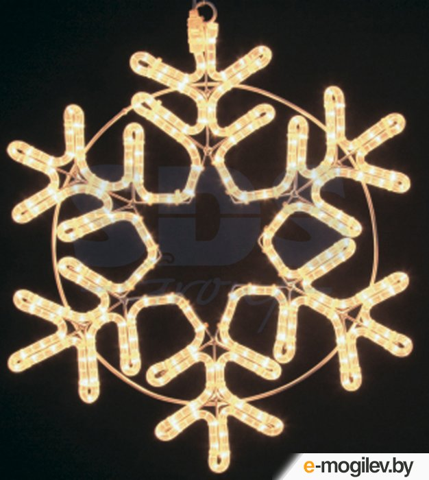 Гирлянды Neon-Night Фигура Снежинка 55cm Warm White 501-324