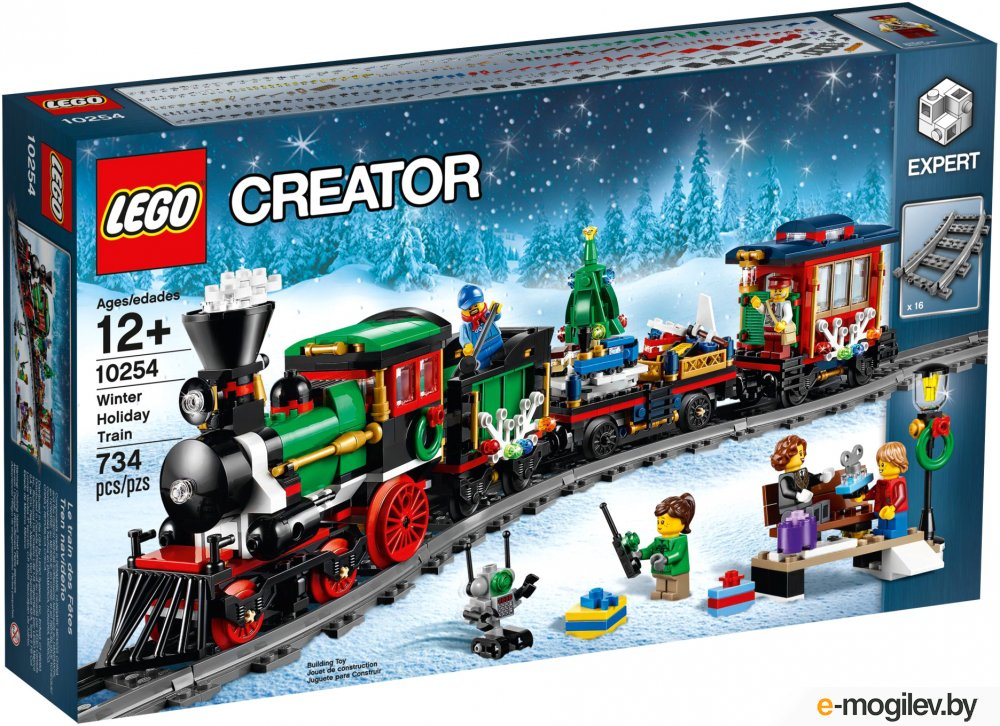 Конструкторы LEGO Конструктор Lego Creator Новогодний Экспресс 10254