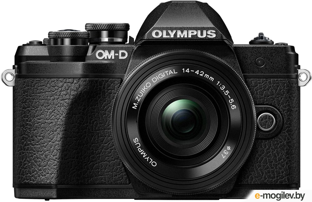 Фотоаппараты Olympus OM-D E-M10 Mark III Kit 14-42 mm II R Black