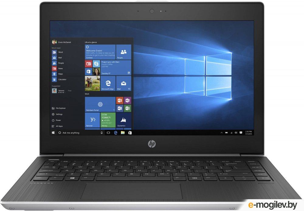 HP ProBook 430 G5 2SY15EA Intel Core i3-7100U 2.4 Ghz/4096Mb/128Gb SSD/Intel HD Graphics/Wi-Fi/Bluetooth/Cam/13.3/1920x1080/DOS