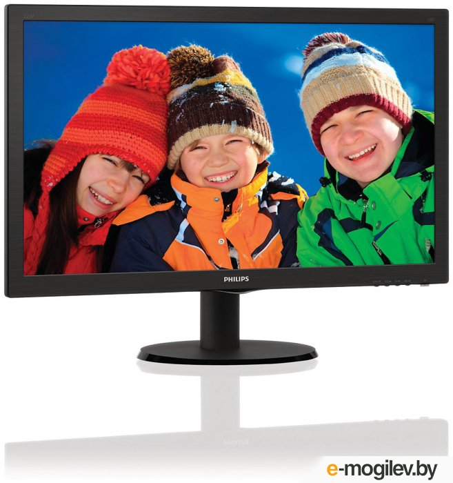 21.5 Philips 223V5LSB/10/62 Black 1920x1080, 16:9, 10M:1, 170
