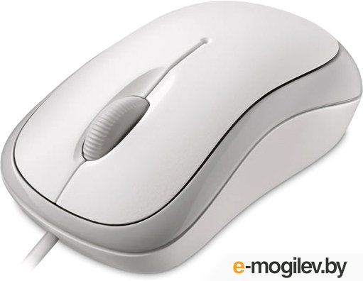 [NEW] Microsoft Basic Optical Mouse ver.2.0 White (OEM)  USB&PS/2 3btn+Roll <4YH-00008>