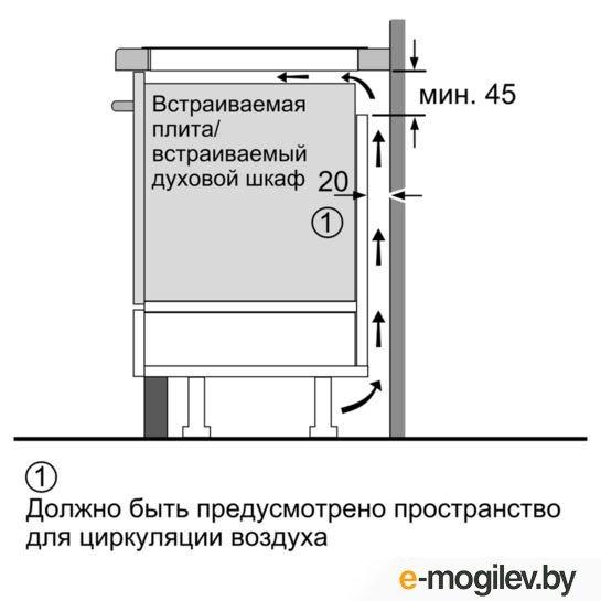 Варочная поверхность Siemens EX679FEC1E серебристый
