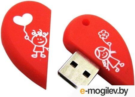 Smartbuy USB Drive 16Gb Wild series Сердце SB16GBHeart {UFD}