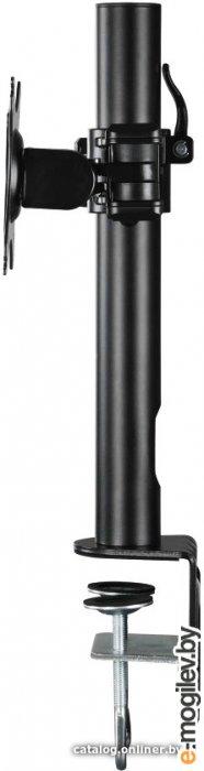 """Кронштейн для мониторов ЖК Hama Fullmotion черный 10""""-26"""" макс.10кг крепление к столешнице поворот и наклон"""