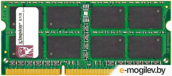 Kingston KVR16LS11/8 SO-DIMM DDR3 1600Mhz - 8Gb(1x8Gb)