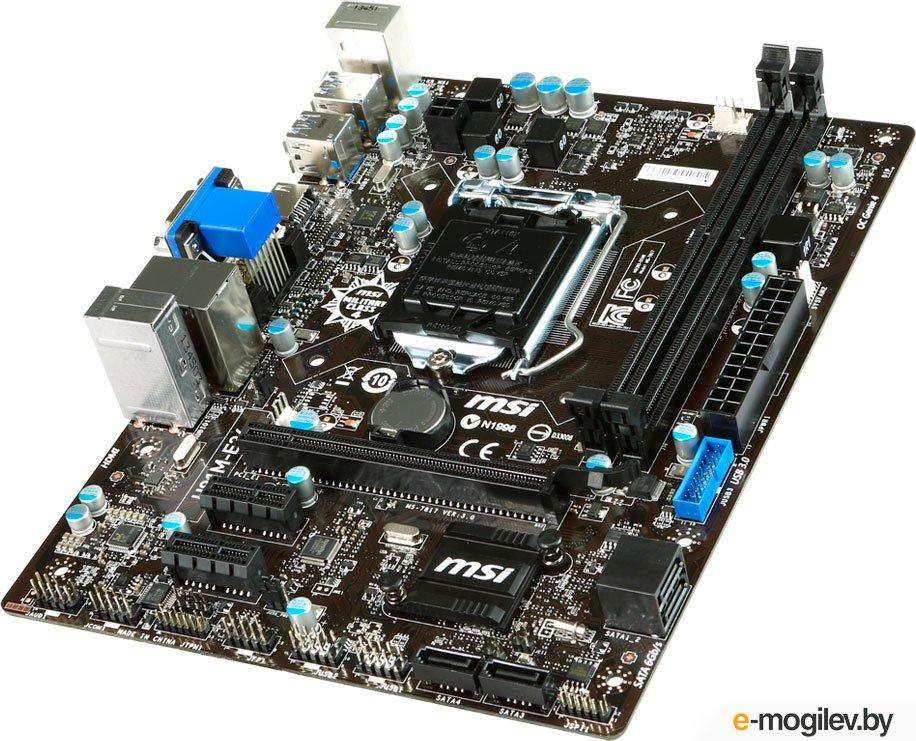 MSI H81M-E34