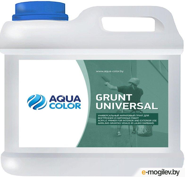 Грунтовка AquaColor Grunt Universal (5л)