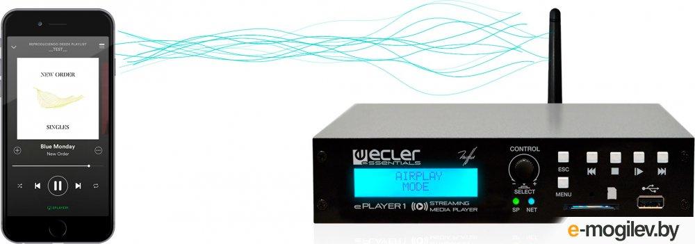 Сетевой проигрыватель Ecler ePlayer1