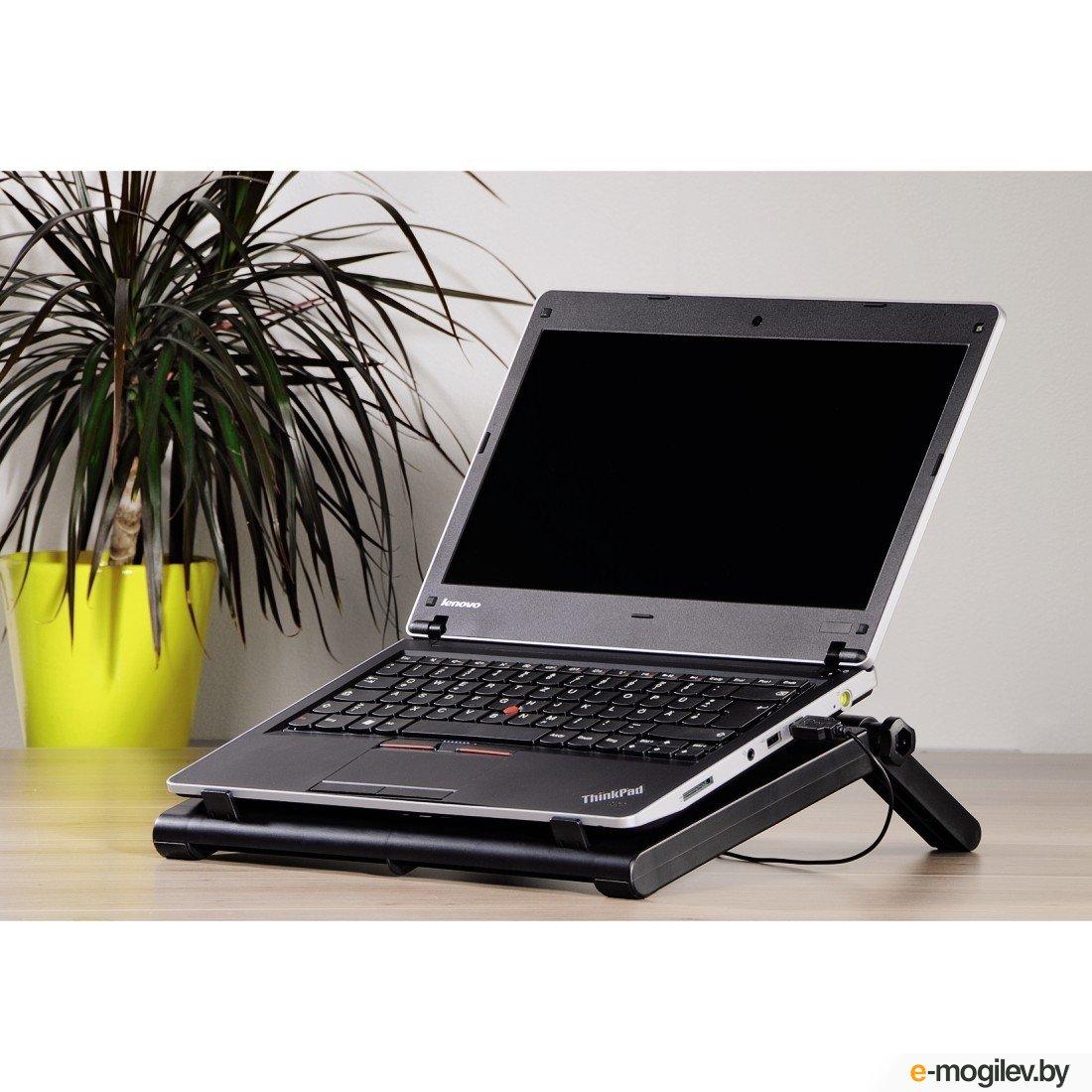 Hama Охлаждающая для ноутбука до 17.3 (44 см) USB Black