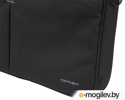"Continent CC-012 Black 15.6"" Black"