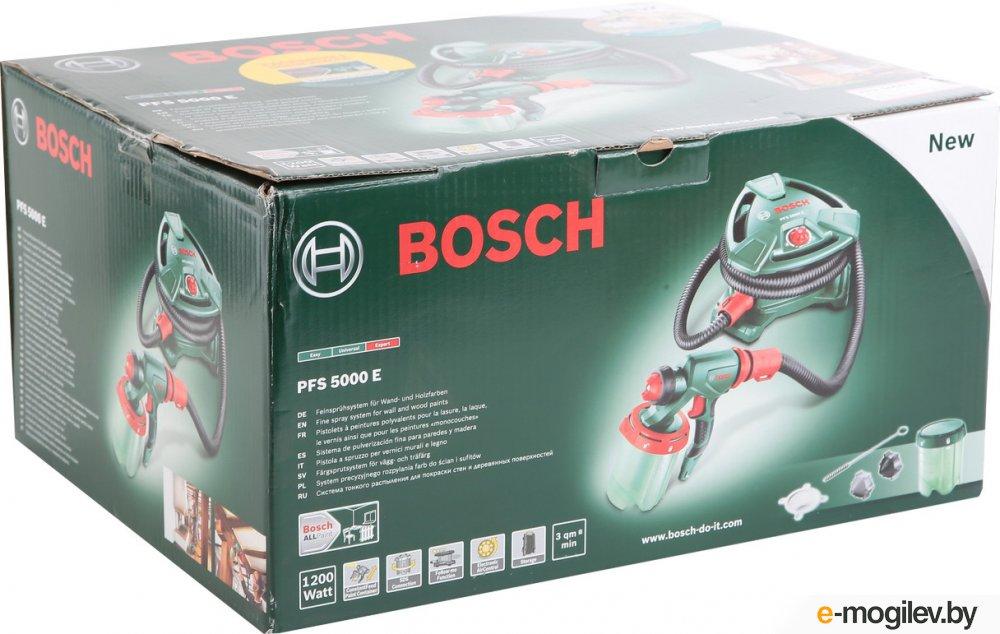 BOSCH PFS 5000 E (1200Вт; 50мл/мин; 1л)