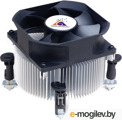 Кулер GlacialTech Igloo 5063 Combo Light (S-1150/1366/775, 2600RPM, 25dBA, 35.5CFM, Al, 3-pin) RTL