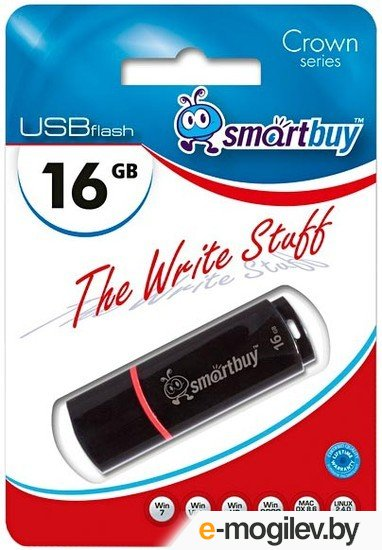 SmartBuy Crown <SB16GBCRW-K> USB2.0 16Gb