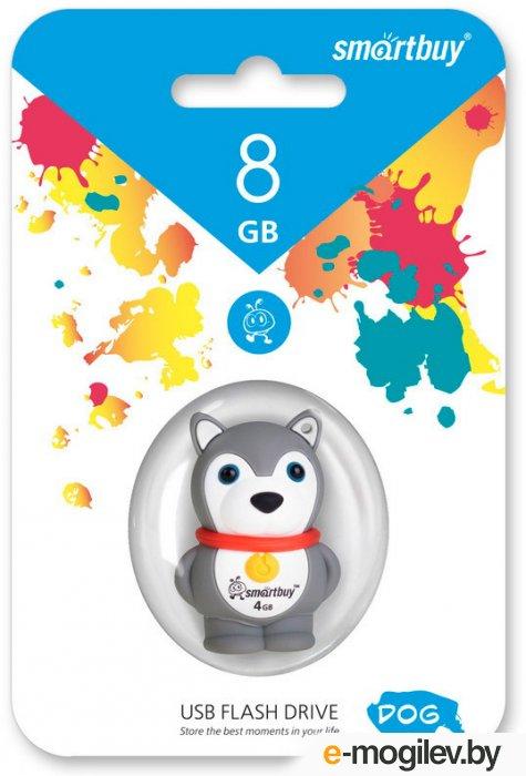 SmartBuy Wild Series Hasky Dog <SB8GBDgr> USB2.0 8Gb