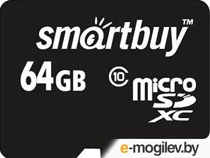 SmartBuy (SB64GBSDCL10-01) microSDXC 64Gb Class10  +  microSD