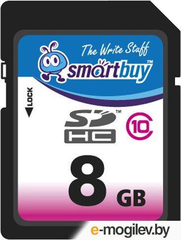 SmartBuy (SB8GBSDHCCL10) SDHC Memory Card 8Gb Class10