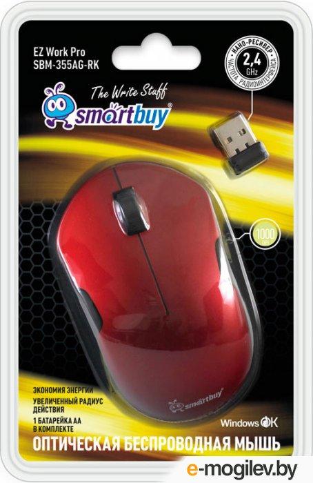 SmartBuy SBM-355AG-RK Red/Black