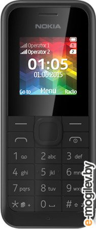 Nokia 105 Черный Duos