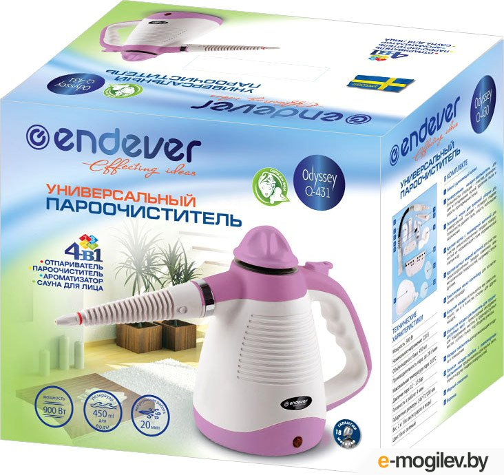 Endever Q-431 White/Pink 900Вт