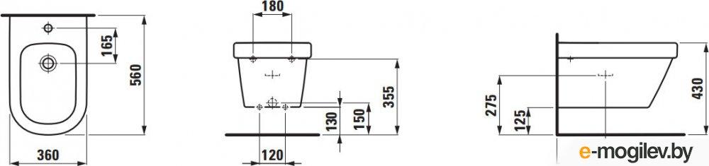 Биде подвесное Laufen LB3 (8306820003021)