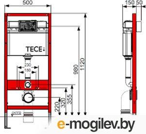 Инсталляция для унитаза TECEbase Kit 9400005