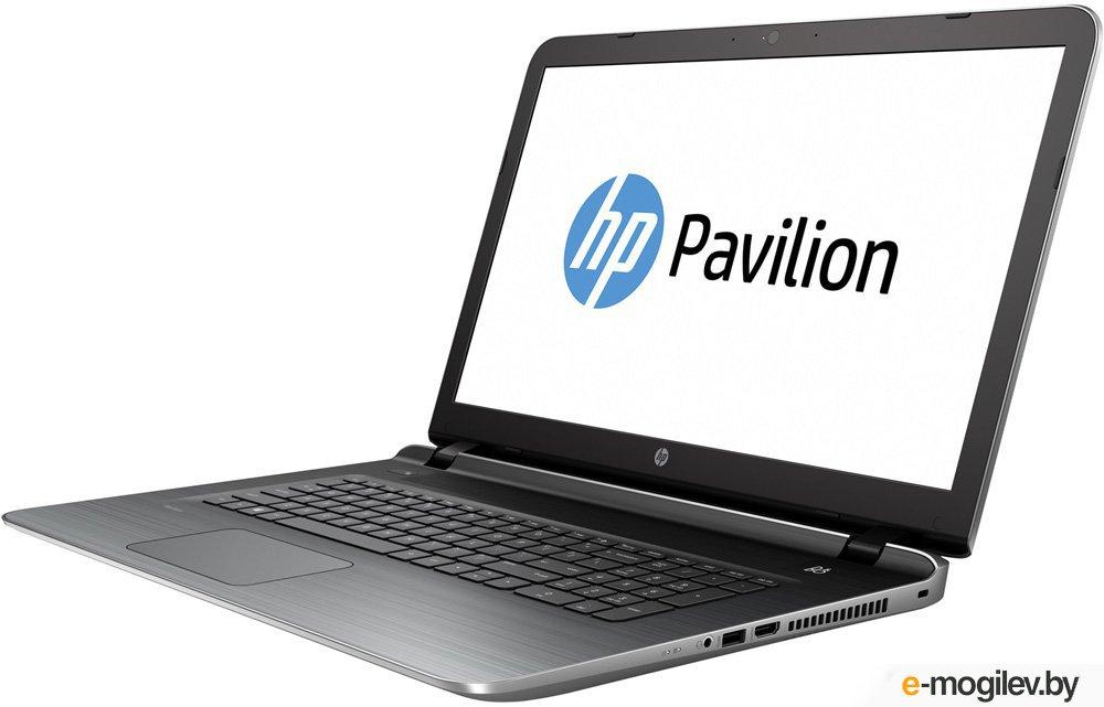 """HP Pavilion 17-g126ur P7R72EA i3-5020U (2.2)/6G/500Gb/17.3"""" HD+/AMD R7 M360 2G/DVD-SM/BT/DOS (Natural silver)"""