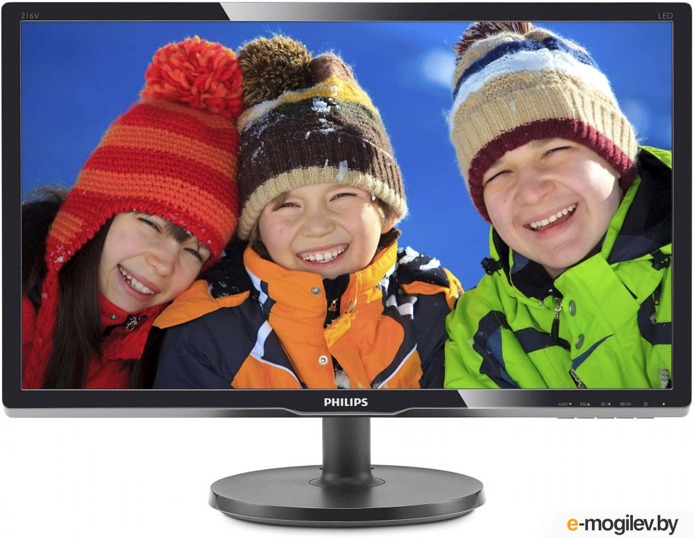 "Philips 20.7"" 216V6LSB2 (10/62) черный"
