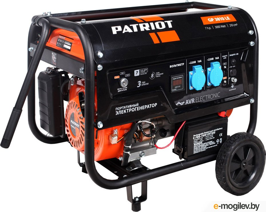 Patriot GP 3810LE 3.0кВт