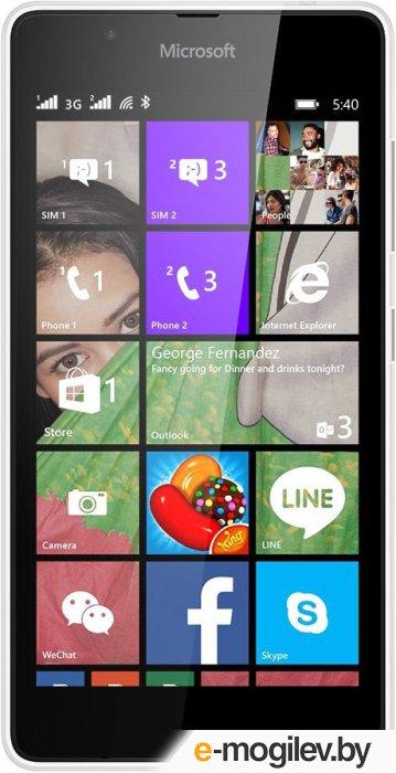 Microsoft Lumia 540 Dual Sim (White)