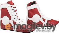 Обувь для самбо RuscoSport SM-0102 (красный, р-р 33)