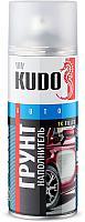 Грунтовка автомобильная Kudo 1K (520мл, акриловый белый)